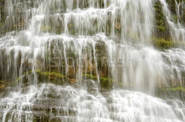 Kóla vízesés park víz természet folyó Stock fotó © pedrosala