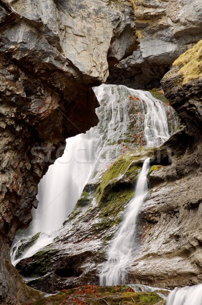 Waterval vallei water voorjaar natuur Stockfoto © pedrosala