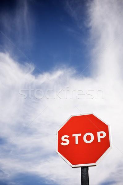 stop Stock photo © pedrosala