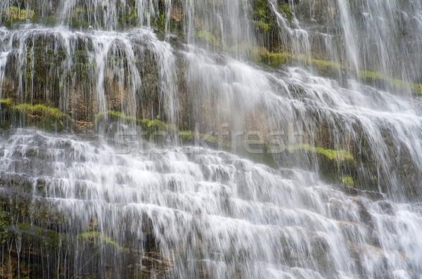 Cola cascade parc nature pierre rivière Photo stock © pedrosala
