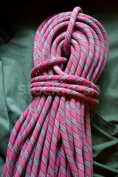 Climbing rope view Stock photo © pedrosala