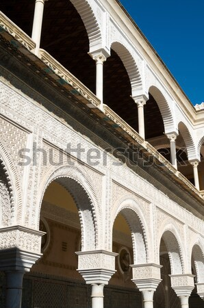 Palota második padló fő- Andalúzia Spanyolország Stock fotó © pedrosala