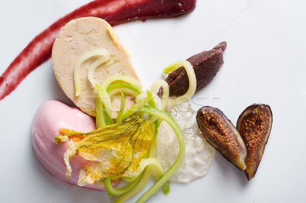 Groenten diner dessert moderne plantaardige vers Stockfoto © pedrosala