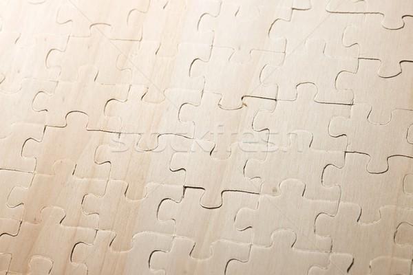 Puzzle pezzi sfondo successo questione Foto d'archivio © pedrosala