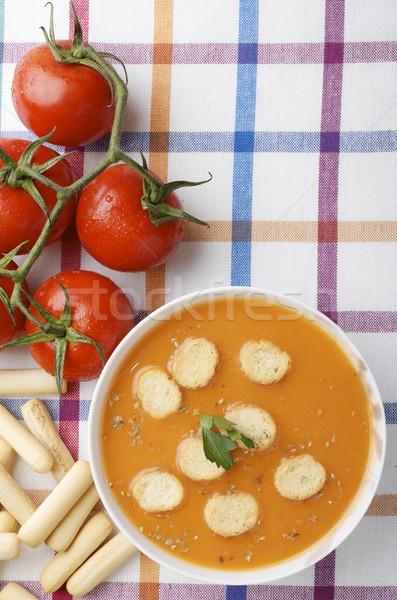 gazpacho Stock photo © pedrosala