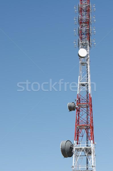связь башни нижний мнение Blue Sky Сток-фото © pedrosala