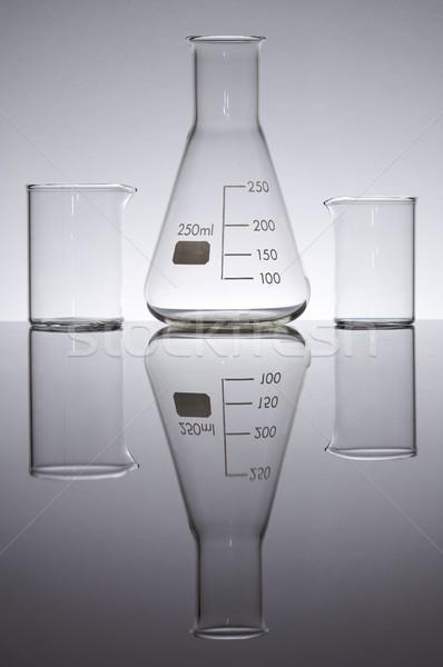 glass laboratory Stock photo © pedrosala
