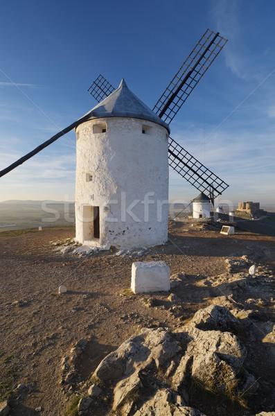 traditional windmills Stock photo © pedrosala