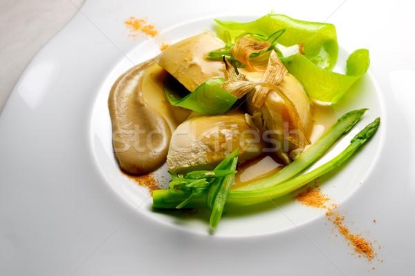 foie pie with vegetables Stock photo © pedrosala