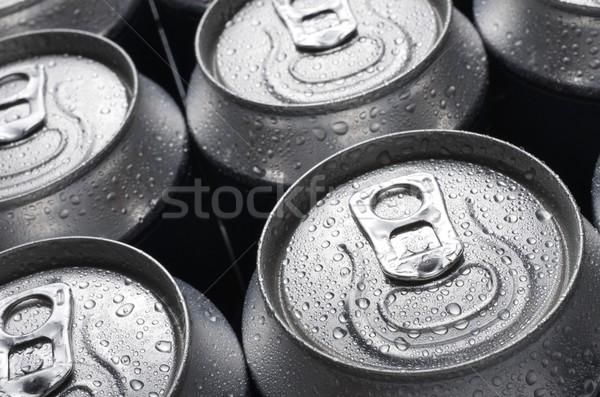 соды группа алюминий можете фон пить Сток-фото © pedrosala