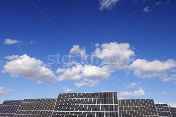 группа производства возобновляемый электрические Сток-фото © pedrosala
