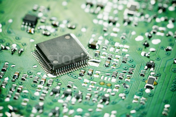 Integrado circuito lasca ciência industrial Foto stock © pedrosala