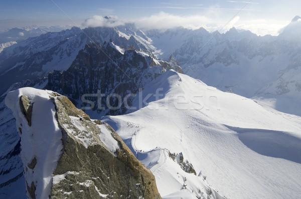 Mont Blanc massif Stock photo © pedrosala