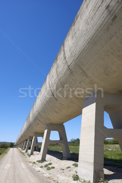 irrigation canal Stock photo © pedrosala