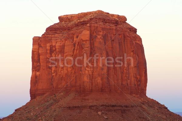 Vale arenito torre tribal parque EUA Foto stock © pedrosala