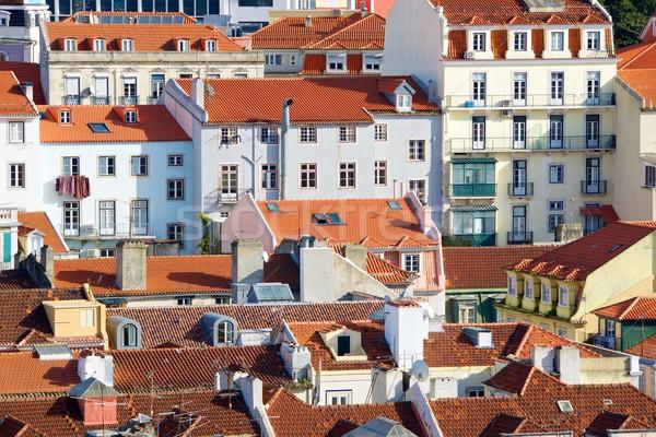 リスボン 旧市街 ポルトガル 建物 市 ストックフォト © pedrosala
