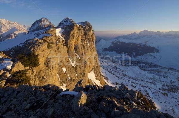 Stock photo: Foratata Peak