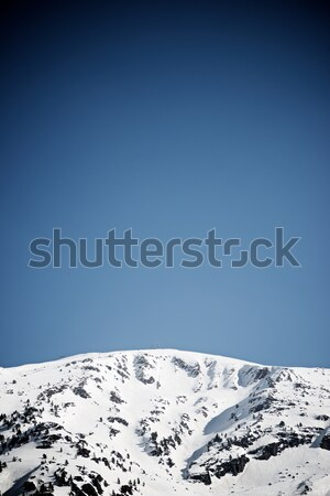 Pyrenees in Spain Stock photo © pedrosala