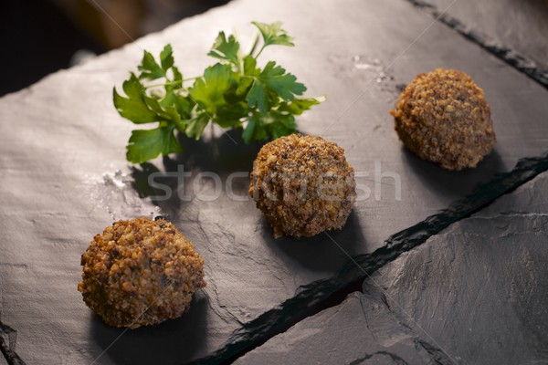 crispy meatballs Stock photo © pedrosala