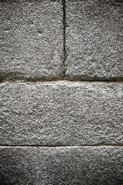 Granito gris alto textura pared Foto stock © pedrosala