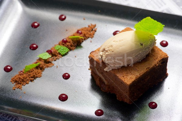Brownie Stock photo © pedrosala
