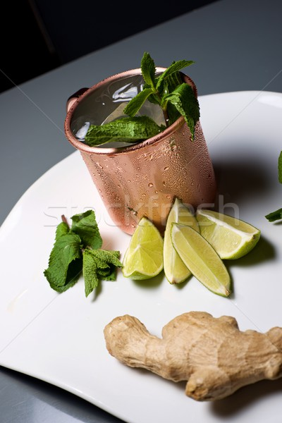 Moscow mule Stock photo © pedrosala