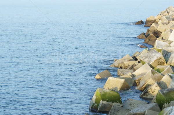 breakwater Stock photo © pedrosala