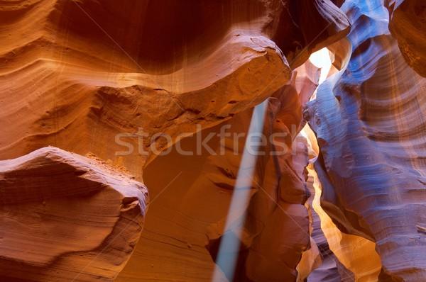 Kumtaşı soyutlama duvarlar kanyon ABD duvar Stok fotoğraf © pedrosala