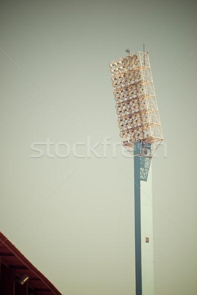 Stadium lights Stock photo © pedrosala