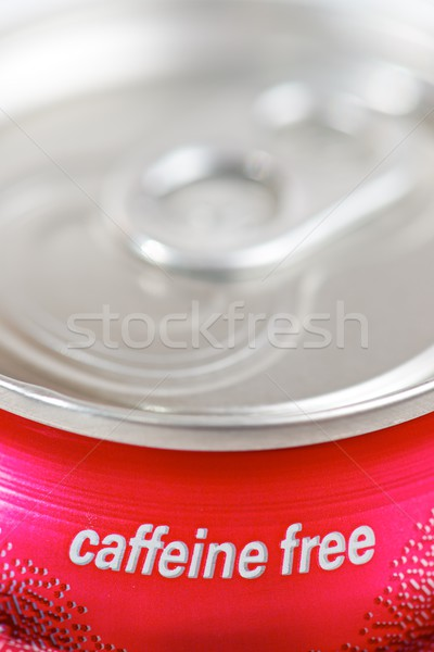 Kafein ücretsiz can soda su Stok fotoğraf © pedrosala