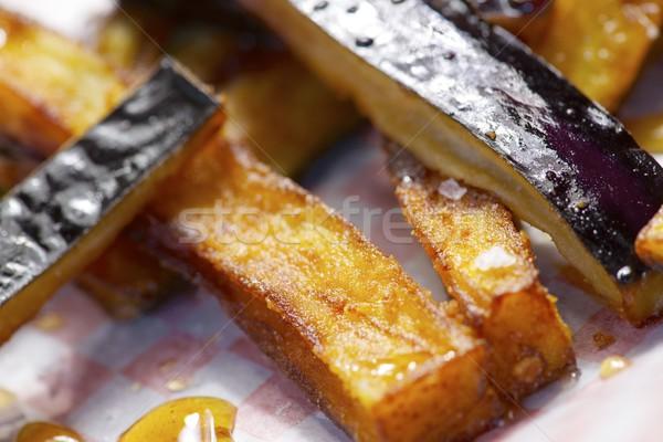 Melanzane piatto miele primo piano alimentare salute Foto d'archivio © pedrosala