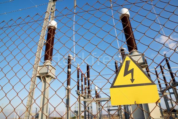 High voltage hazard Stock photo © pedrosala