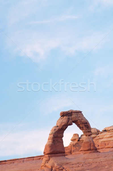 Delicate Arch view Stock photo © pedrosala