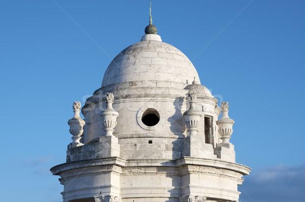 ストックフォト: 塔 · 大聖堂 · 空 · 建物 · 市 · 教会