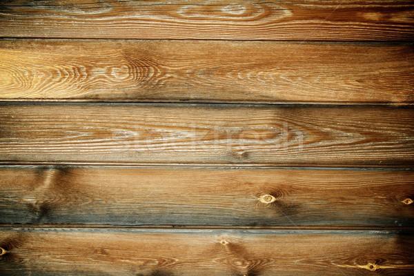 Drewna wysoki ściany streszczenie Zdjęcia stock © pedrosala