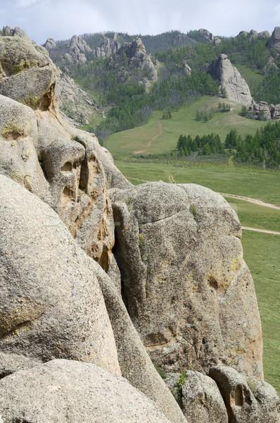 Mongolian landscape Stock photo © pedrosala