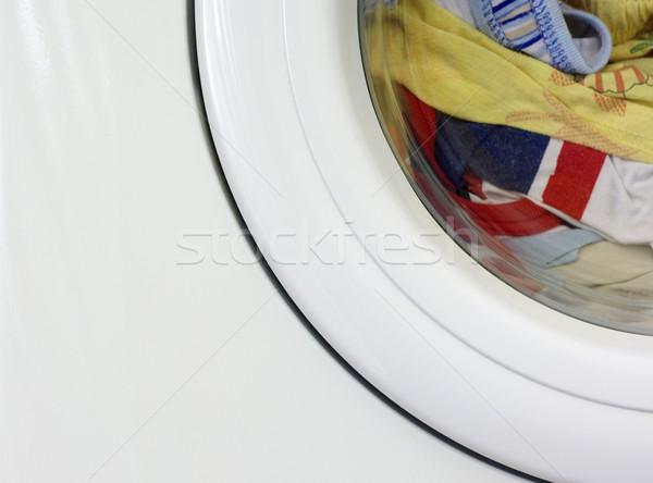 Washing machine fragment Stock photo © pekour