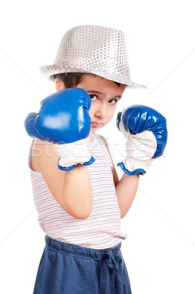 Little boxer Stock photo © pekour