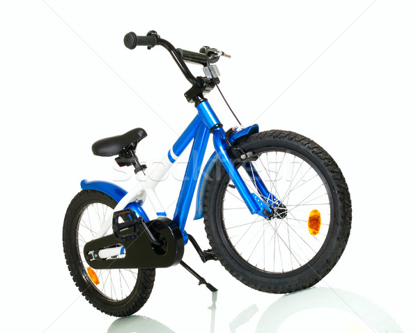 Child bike with reflection Stock photo © pekour