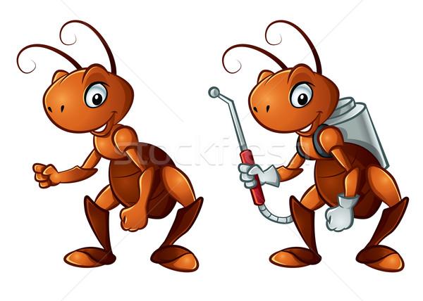 かわいい アリ 実例 2 笑顔 ストックフォト © penivajz