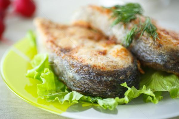 fried carp Stock photo © Peredniankina