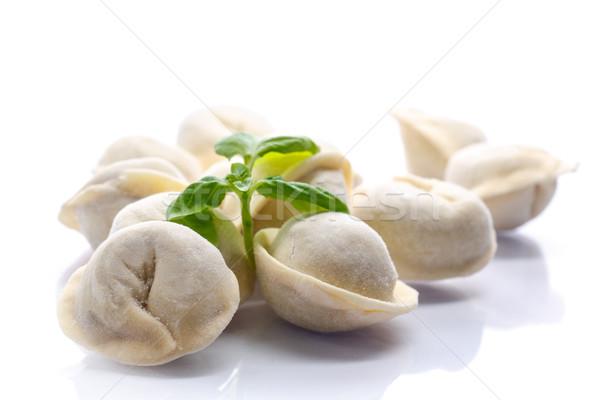 uncooked meat dumplings Stock photo © Peredniankina