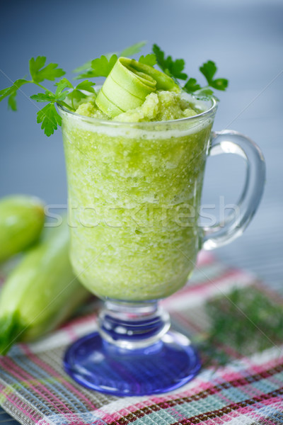 mashed squash in a glass Stock photo © Peredniankina