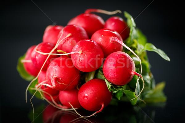 bundle of red radish  Stock photo © Peredniankina