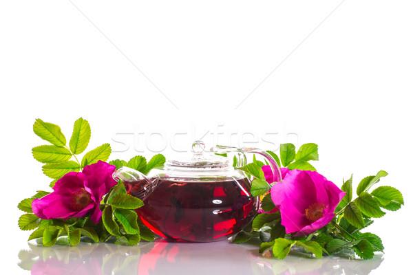 tea with rose hips Stock photo © Peredniankina