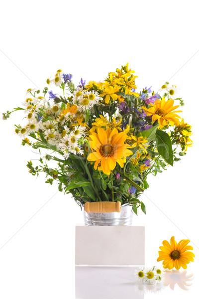 bouquet of summer flowers Stock photo © Peredniankina