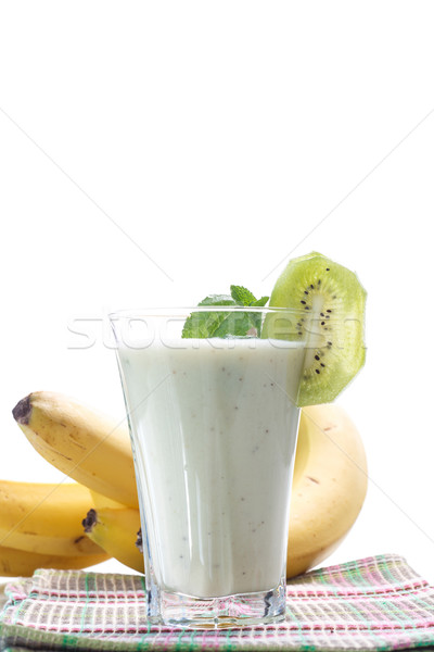 smoothie with kiwi and banana Stock photo © Peredniankina