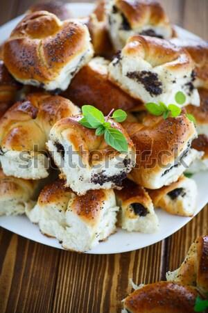 Recheado secas doce saboroso Foto stock © Peredniankina