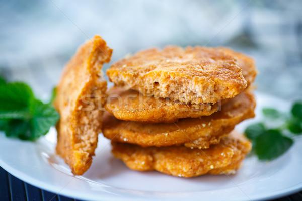 fried fish roe Stock photo © Peredniankina
