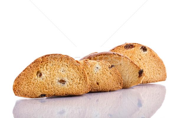 パン おや 甘い 白 背景 食事 ストックフォト © Peredniankina